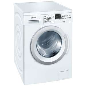 Siemens WM12Q390GB Washing Machine, 8kg Load, A+++ Energy Rating, 1200rpm Spin, White + 5 Year Warranty £379 delivered @ John Lewis