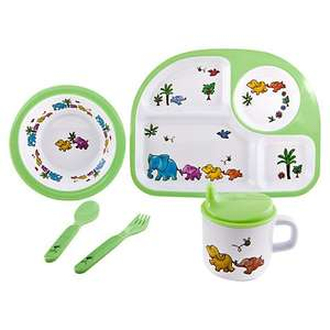 Martin Gulliver Elephant Dinner Set £5.25 was £15.00 @ John Lewis Click and Collect