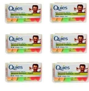 Quies Ear plugs 35dB 3 Pairs - Pack of 12 £5.75 @ Amazon sold by Pharmacy Place