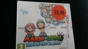 3DS Mario & Luigi Dream Team Bros. £8.99 @ Sainsburys