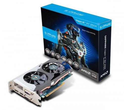 Sapphire Radeon R7 250X Vapor-X 1GB (HD 7770) £51.42 delivered @ pixmania