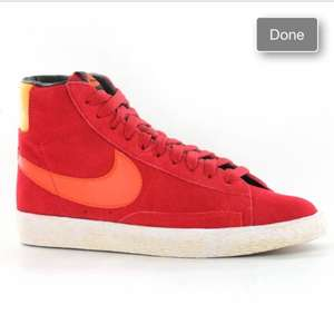 Nike Blazer Mid Vintage Youths Trainers (Size 5.5) £12.94 @ eBay / Branded Shoe Store