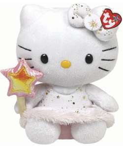 "TY Hello Kitty 12"" Angel Plush Toy, now £6.49 @ Mothercare"