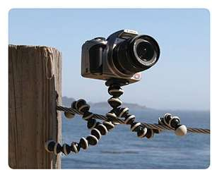 Joby GorillaPod SLR-Zoom Tripod for SLR Cameras £19.95 Sold by MP3 Accessories and Fulfilled by Amazon