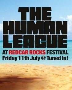 Groupon - The Human League at Redcar Rocks: One (£9.90) or Two (£18.90)