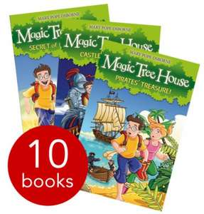 The Magic Tree House Collection 10 Books £9.99 (Pre-Order; Stock Expected on Tuesday) +£2.95 Delivery @ the Book People or Free Delivery on orders over £20