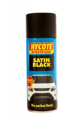 HYCOTE XUK0271 Aerosol Spray Paint 400 ml - Satin Black £2.36 (add on item / £10 spend)  @ Amazon