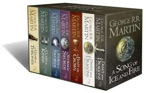 A Song of Ice and Fire/Game of Thrones 7 Book Box Set & Cities Poster Map £29.99 @ The Works In store UK