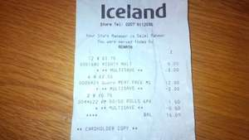 Kingsmill 50/50 Rolls (12 pack) £1 @ Iceland