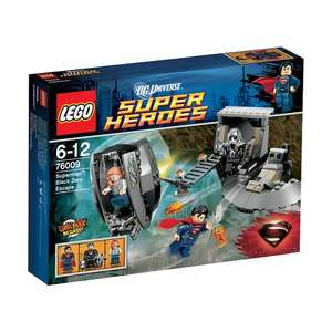 Lego Superman Black Zero Escape reduced to £9 (RRP £20) 76009 PLUS very good reductions on some lego instore at Asda