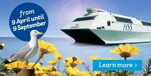 Day trip to Dublin (Ferry from Holyhead for foot passengers) - £5/person return Tuesdays - £10/person return Sun-Thurs - Stena