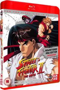 STREET FIGHTER II: The Animated Movie (BLU-RAY) Remastered New Edition - Uncensored @ Base - £12.99