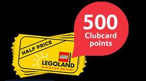 Buy The Lego Movie (SD or HD) and get 500 Tesco Club card points plus 50% off Legoland Resort ticket £9.99 @ Blinkbox