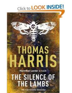 Silence of the Lambs paperback £1 at Amazon  (free delivery £10 spend/prime)