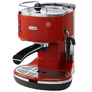 De'Longhi ECO310.R Icona Espresso Coffee Machine, Red £99.95 @ johnlewis