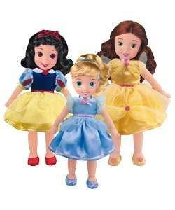 Disney Princess Soft Dolls @ Argos reduced from £9.99 to £5.99