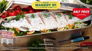 £5.49kg (1/2 price) Whole Salmon @ Morrisons
