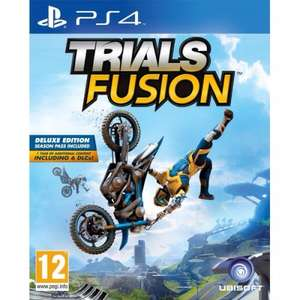 Trials Fusion Deluxe (with Season Pass) - PS4/XBONE £25.00 delivered @ Tesco Direct (Using eCoupon)