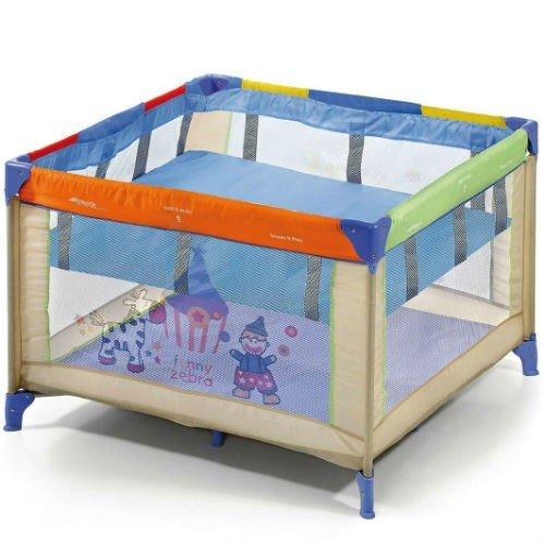 Hauck Travel Cot Basinette Square 2nd Floor 96 x 96cm - Blue £17.95 @ preciouslittleone