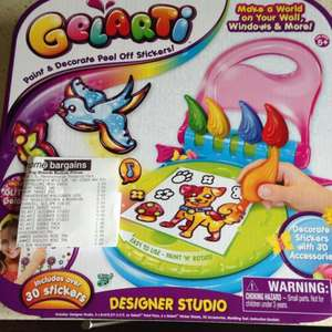 Gelarti designer studio £4.49 Home Bargains