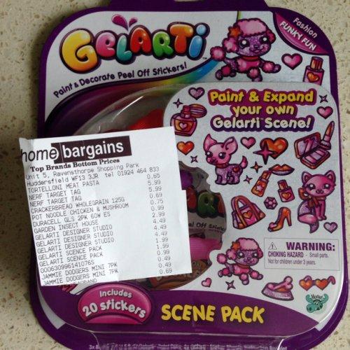 Gelarti scene pack refill pack £1.99 home bargains