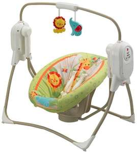 Fisher-Price Rainforest Portable Baby Swing (Half price -Lightning deal -  Free Delivery) @ Amazon - £49.99