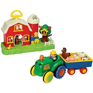 John Lewis Farm House and Tractor Half Price (Clearance) £17.50