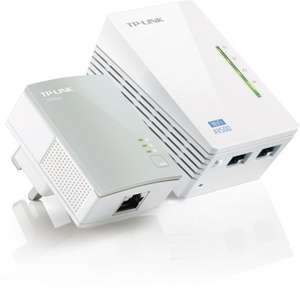 TP-Link TL-WPA4220KIT AV500 Powerline 300M Wi-Fi Booster/Extender with Two LAN Ports Kit (Wi-Fi Clone, No Configuration Required) @ Amazon for £37.49