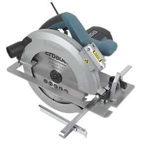 Erbauer ERB384CSW 235mm Circular Saw 240V deal of the day £50 at Screwfix