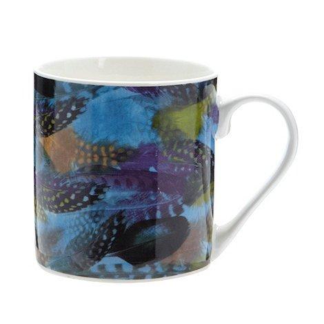Designer porcelain 'feather' mug 90p @ Debenhams