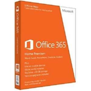 Microsoft Office 365 (Home Premium/5 Users/1 Year Sub) £39.95 Delivered @ TheGameCollection (PC/Mac)
