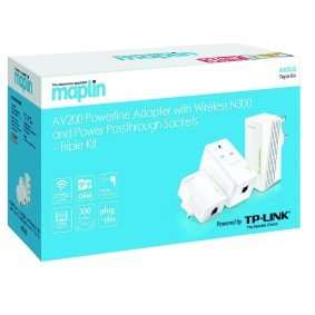 TP-Link 200Mbps Triple KitMaplin Web Exclusive £39.99 @ Maplin