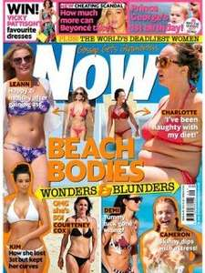 Now Magazine only £1 exclusive to Sainsbury's