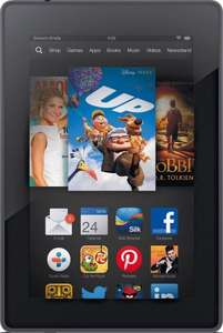 Kindle Fire HD Tablet - 8GB £73.94 delivered @ eBay - Refurbished With a 12 Month Argos Warranty