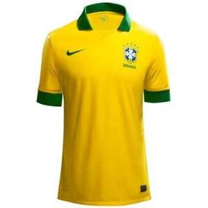 Official 2013-14 Brazil Home Shirt - £59.99 reduced to £34.99   @ UK Soccer Shop