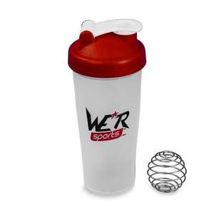 WE R Sports Shaker Bottle for Smoothies/Protein Shakes 600ml To 700ml £2.99 delivered @ Amazon and sold by We R Sports