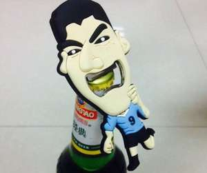 Luis Suarez Bottle Opener - £2.80 @ eBay (Ahan-Ltd)