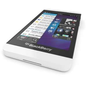 White Blackberry Z10, Q10, Q5, Z30 - from £139.99 @ Blackberry