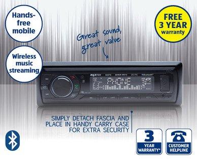 Bluetooth car stereo £34.99 @ Aldi