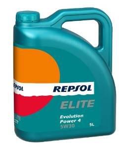Repsol Elite Evolution Power 4 5W30 Engine Oil 5 L £14.30 inc del from Amazon