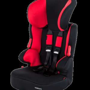 Kiddicare Traffic SP Group 1/2/3 Car Seat Black/Red Suitable from 9 - 36kg  £24.99 + £2.99 P&P was: £49.99