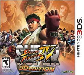 Super Street Fighter 4 3D for Nintendo 3DS/2DS - £4.87 @ Amazon (Free Delivery with Prime/£10 spend)
