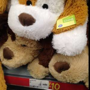 Soft dog toy £3 @ asda