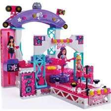 Mega Bloks Barbie Build and Style Superstar Stage Playset @ Argos - £14.99