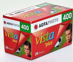AGFA Vista 24exp 400 speed film £1 in Poundland