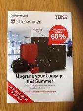 """Ellehammer Luggage / Suitcases - 28"""" - £54.40 / 26"""" Hardshell - £58.29 (use code code TD-HT6X) @ Tesco"""