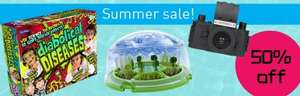 50% off Summer deal on the science museum online shop
