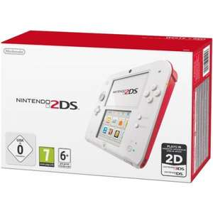 Nintendo 2DS - White & Red FOR £74 @ Tesco with code