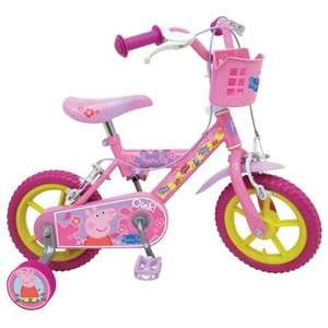 Peppa Pig 12 inch Bike £55.98 @ World Stores