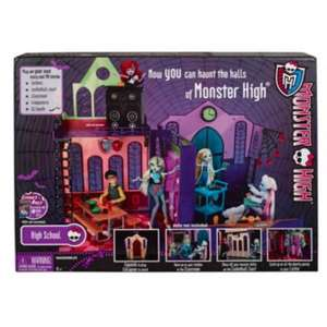 Monster High School Playset £38.00 @ Debenhams Plus extra 10% off with code £34.20 incl delivery